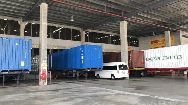 AIMS APAC REIT, or AA REIT, industrial warehouse at 20 Gul Way