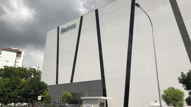 AIMS APAC REIT, or AA REIT, building at 51 Marsiling Road, Singapore, which is leased to Beyonics.