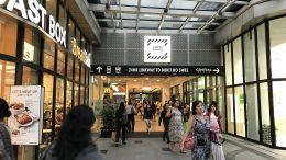 Tiong Bahru Plaza entrance with BreadTalk outlet