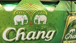 Chang Beer, made by Thai Beverage