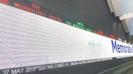Ticker at Singapore Exchange (SGX)
