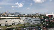 Singapore shipyards in Tuas area