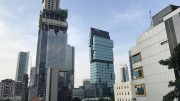 UOB building in Jakarta, Indonesia