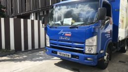 Singapore Post (SingPost) delivery truck