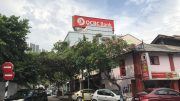 OCBC Bank outlet in Johor Bahru in Malaysia
