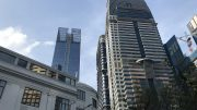 Frasers Property tower and CapitaLand's Capital Tower