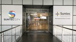 Suntec City mall entrance