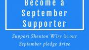September Supporter Pledge Drive