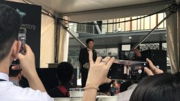 Singapore Minister of Development Lawrence Wong speaking at the official opening of the Paya Lebar Quarter mixed-use property development on Thursday, 24 October 2019.