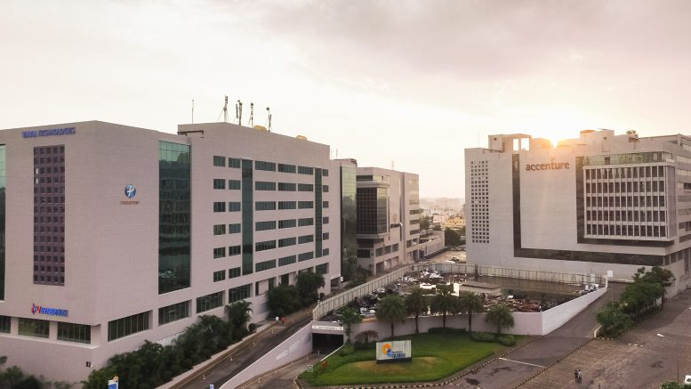 The aVance, Pune property at a 1.5 million square foot IT/ITES Special Economic Zone (SEZ) within the first phase of the Rajiv Gandhi Infotech Park, Hinjawadi. Credit: CapitaLand