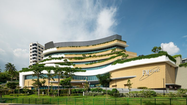 The FM Global Centre business park property in Singapore to be acquired by Ascendas REIT; credit: Ascendas REIT