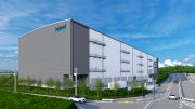 A rendering of CapitaLand's planned second logistics property in Japan. Credit: CapitaLand
