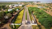 Logistics asset Ascendas-Firstspace Chennai, Oragadam is strategically located in Chennai's largest and most developed industrial belt. It is one of six assets held under the Ascendas India Logistics Programme. Credit: CapitaLand