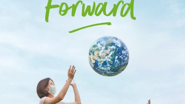 Cover of Temasek's annual report for 2021