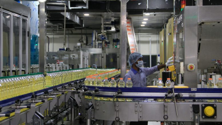 An image of an Adani Wilmar manufacturing location. Source: Adani Wilmar website