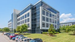 Located in the Research Triangle in Raleigh, North Carolina, Perimeter Properties comprises three office buildings. Mapletree US Income Commercial Trust holds the property. Credit: Mapletree Investments.
