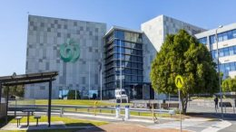 The Woolworths Group headquarters, located at the Norwest Business Park in Sydney, Australia. In September 2021, AIMS APAC REIT entered a deal to acquire the property. Credit: AIMS APAC REIT