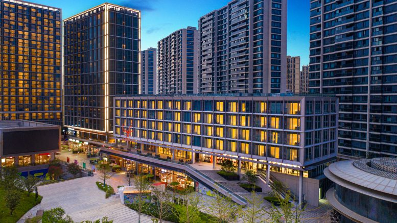 The lyf Mid-Town Hangzhou, located in Hangzhou, China's located in the Gongshu district, near the Grand Canal, is part of the lyf coliving brand from CapitaLand Investment's Ascott. Credit: Ascott