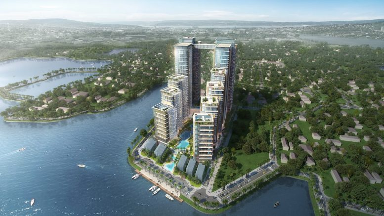 CapitaLand Investment's Ascott will manage 1,905 units across three distinct serviced residence brands in the Tay Ho View Complex in Hanoi, Vietnam, situated next to the famous West Lake. In addition to Ascott's trio of serviced residences, the integrated development also comprises commercial and retail elements. Credit: Ascott